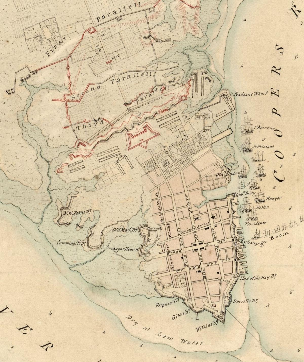"""The """"Walled City"""" of Colonial Charles Town 2"""