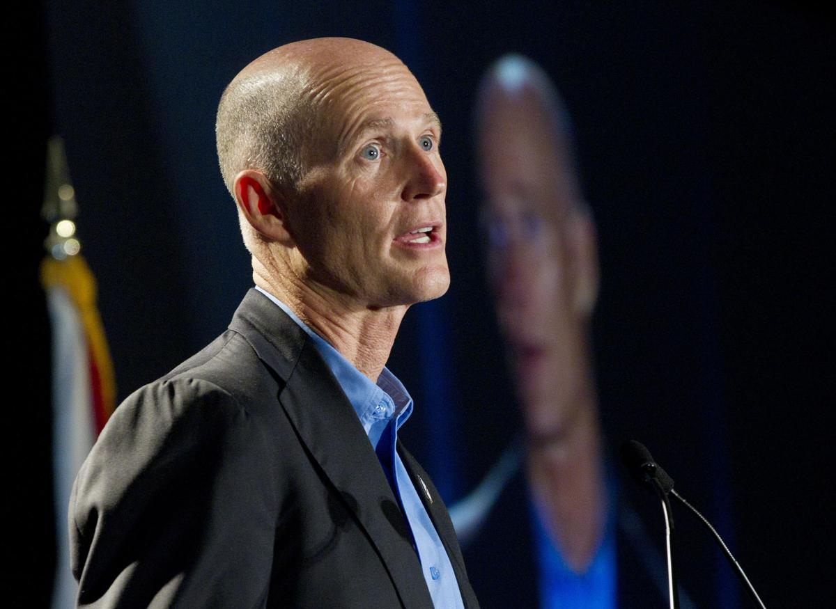 Florida governor reaches outside state to lure jobs