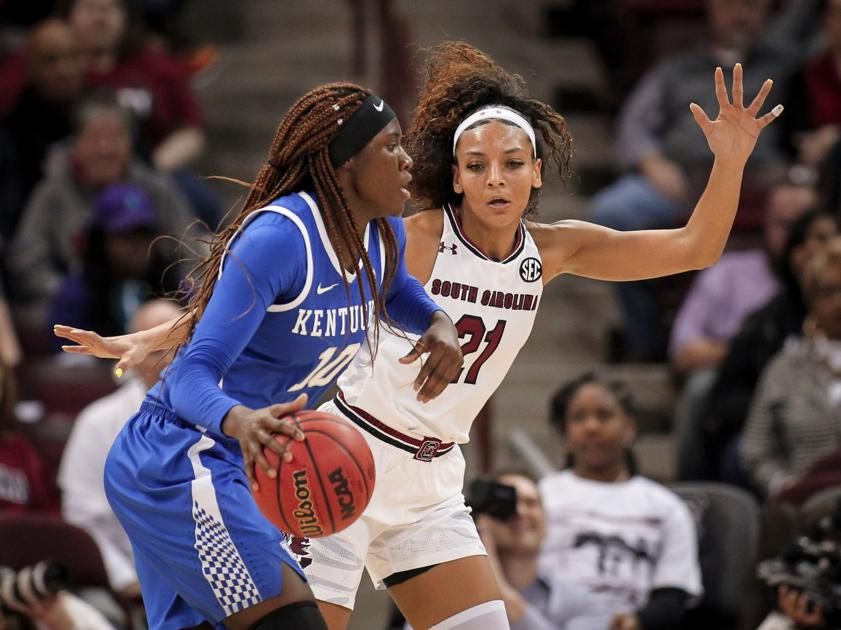 Gamecocks' Dawn Staley and star forward getting it right after transfer flap