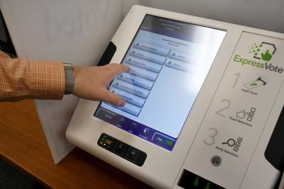 Demonstration of new statewide paper-based voting system (copy)