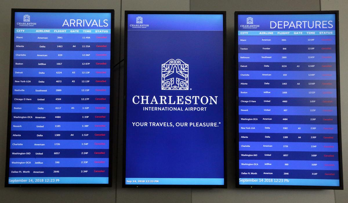 Charleston International Airport has reopened to commercial flights ...