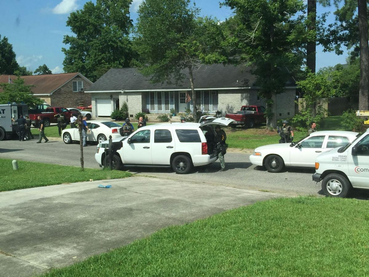 Man now in custody after standoff with North Charleston police