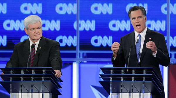 Once-surging Gingrich slipping in Florida