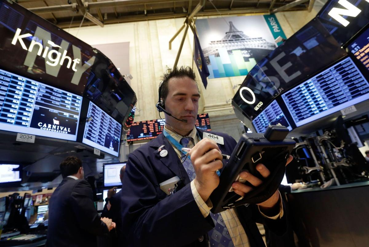 Stocks jump, hit another record