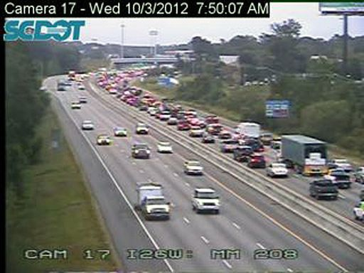 Multiple accidents caused traffic woes on I-26, throughout Lowcountry