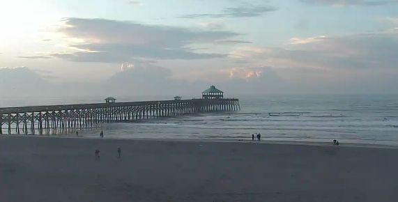 Mostly cloudy, chance of afternoon showers in Charleston