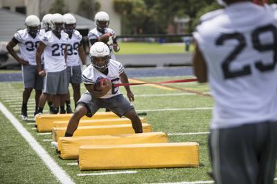 Citadel Football Practice