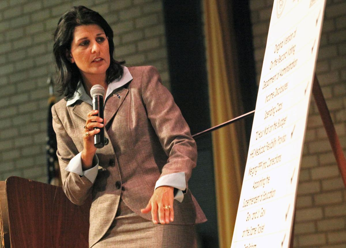 Haley to campaign for Romney in Michigan next week, take part in Colorado roundtable