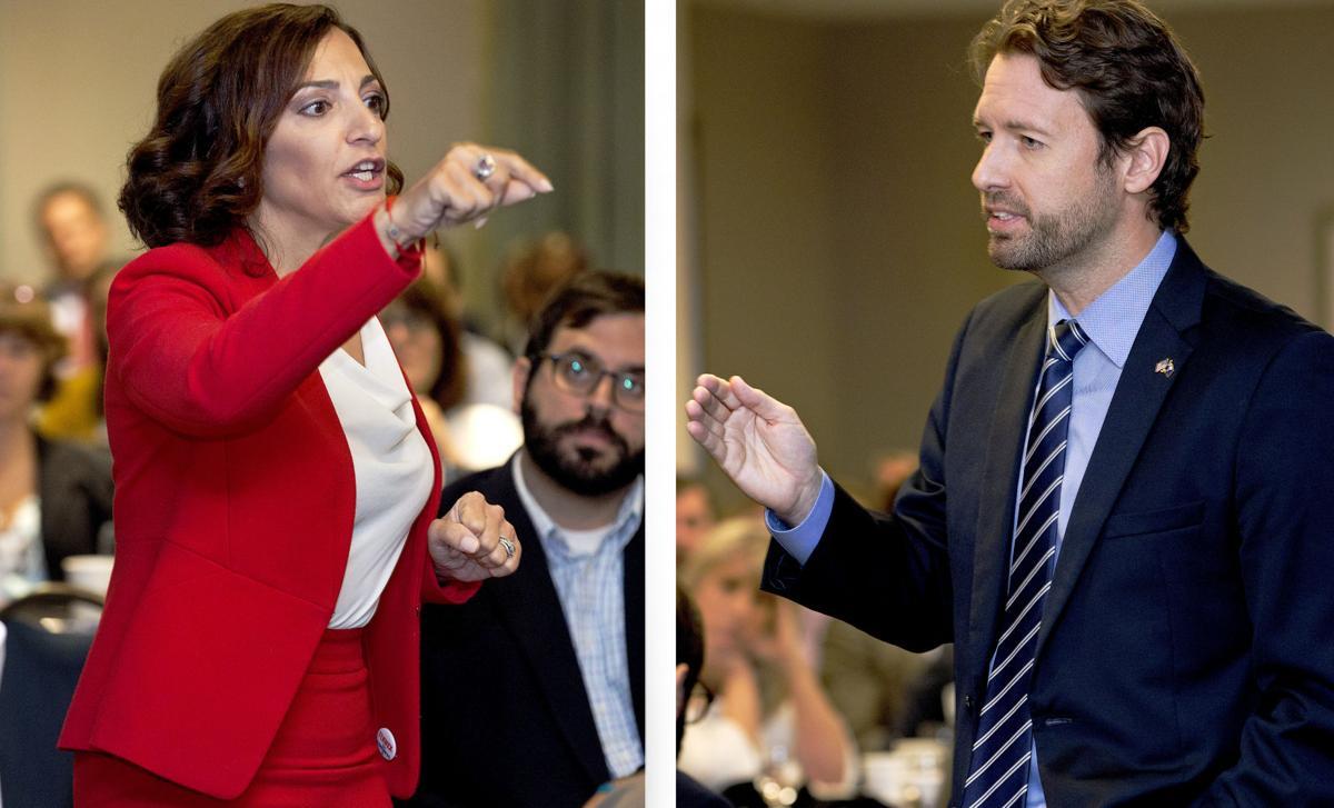 U.S. House South Carolina District 1 candidates Katie Arrington and Joe Cunningham