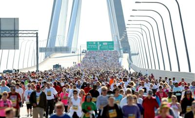In the event of dangerous weather conditions, Bridge Run will provide updates first on Facebook