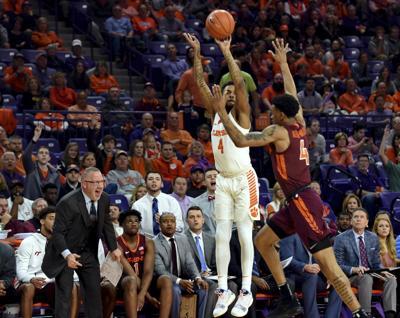 Virginia Tech Clemson Basketball