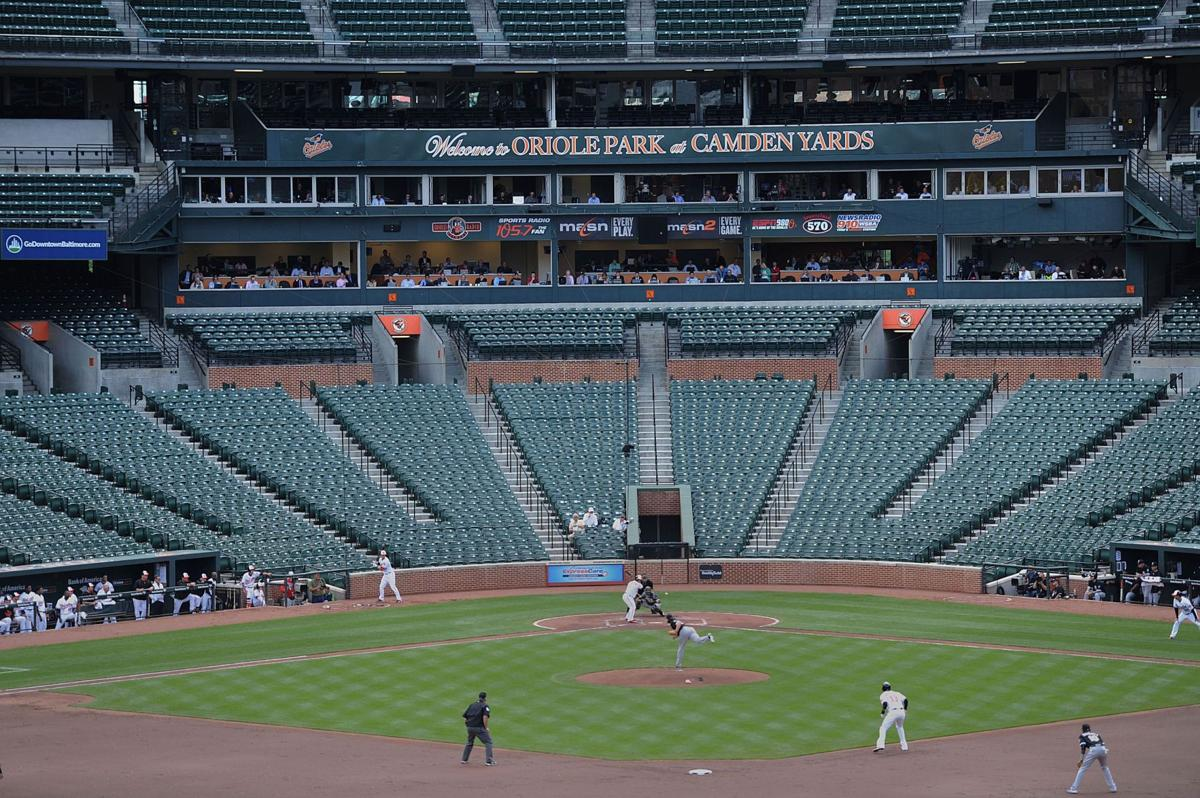 Orioles take the field in riot-torn Baltimore