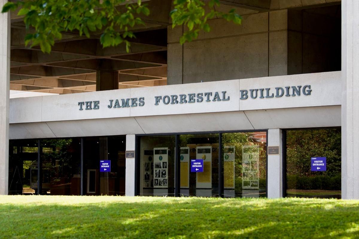 Forrestal Building, DOE HQ, Lettering (copy)