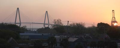 Sunny, breezy and warm today in Charleston