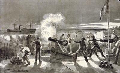 Charleston at War: In 1861, Star of the West gets first taste of civil war