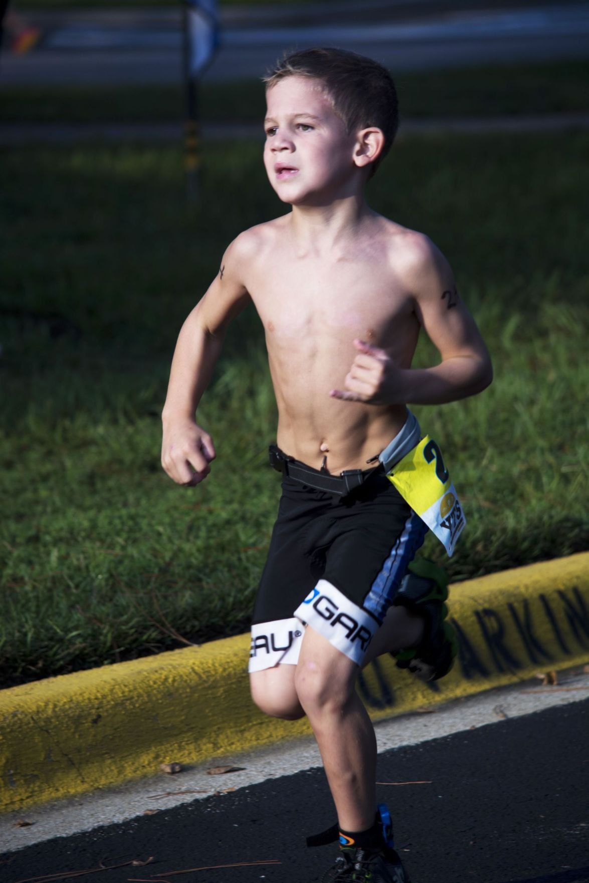 Kids' triathlons take off as sport grows in U.S.