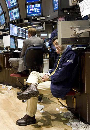 Bailout worries portend hard sell