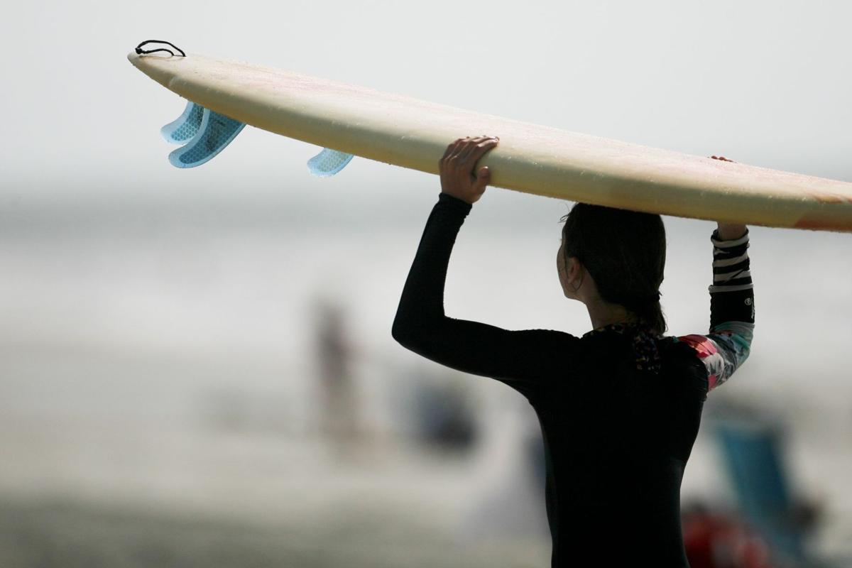 Surf's up at College of Charleston