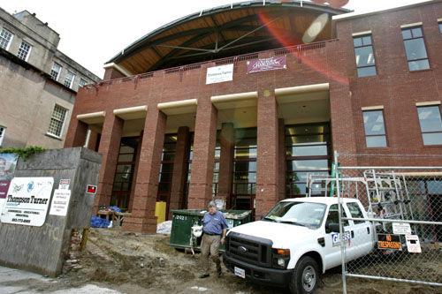 College of Charleston Arena Takes Shape