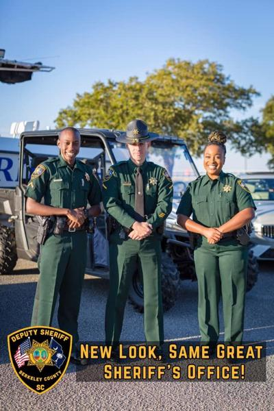 Sheriff's Office changes to new uniforms