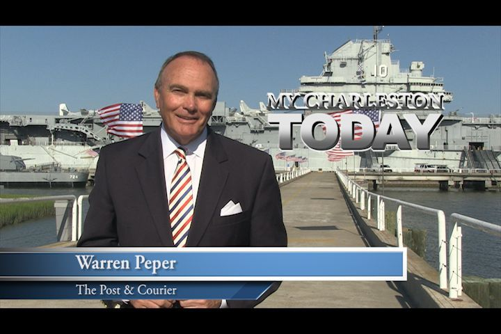 My Charleston Today: Warren Peper visits Patriots Point on Flag Day