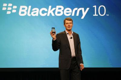 RIM says its new BlackBerry phone in testing
