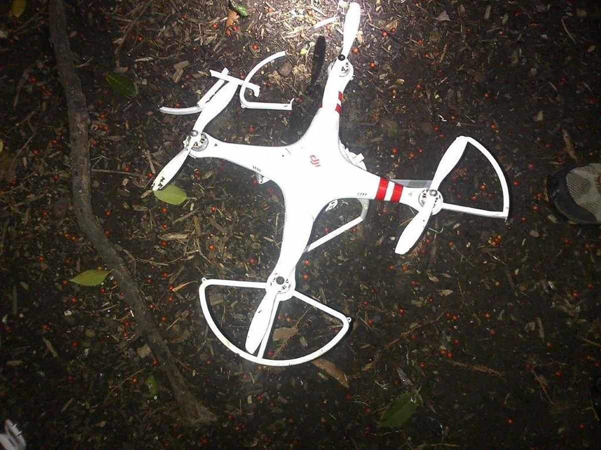 Tiny crash stirs big debate about drones, security