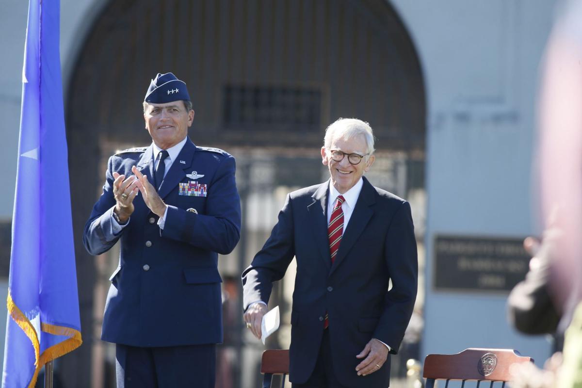 Lt. Gen. John W. Rosa, USAF (Ret) Nigel Redden