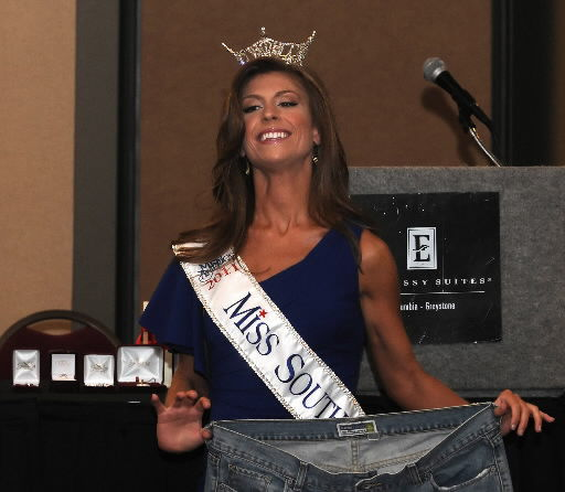 Miss South Carolina wins her fight with obesity