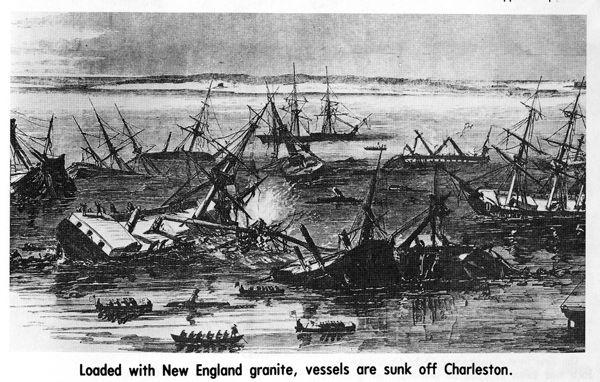 Charleston at War: Charleston harbor key blockade target