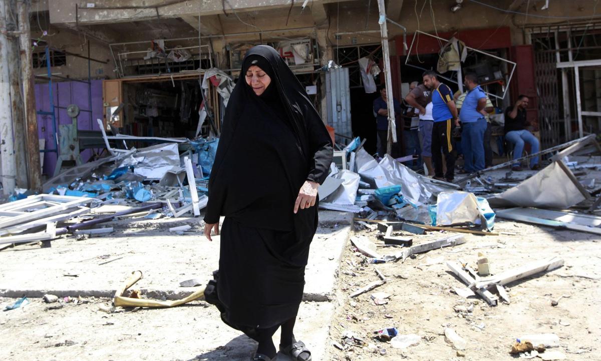 Bombings in Iraq's capital kill at least 27 people