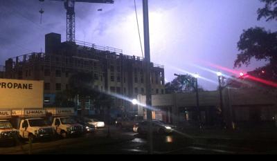 Thunderstorm on Thursday, Aug. 9, 2018