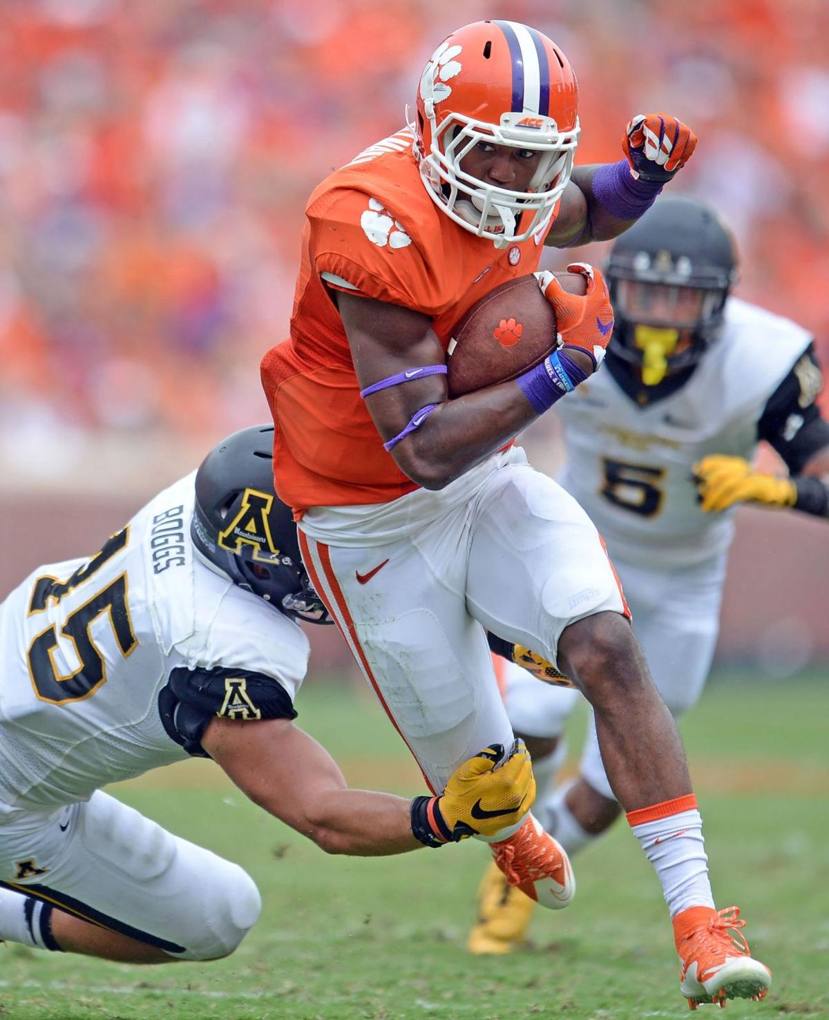 On the Beat: Gallman called out by coaches, responds with punishing hit