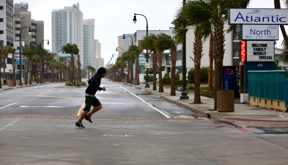 Some Myrtle Beach residents 'still lucky' as Hurricane