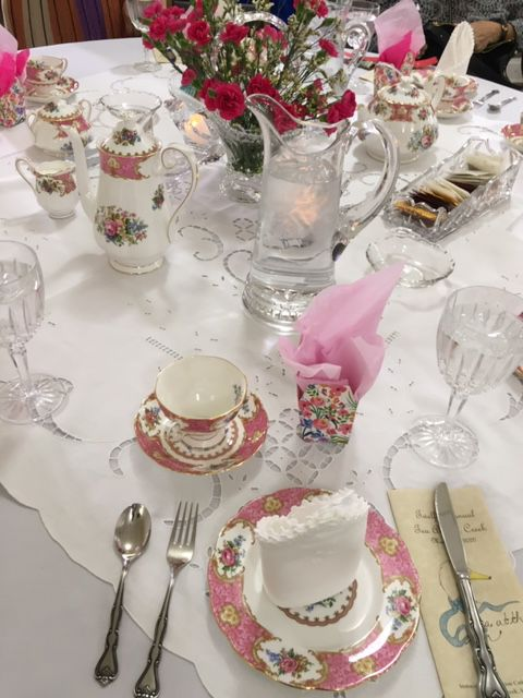 Tea raises money for local scholarships