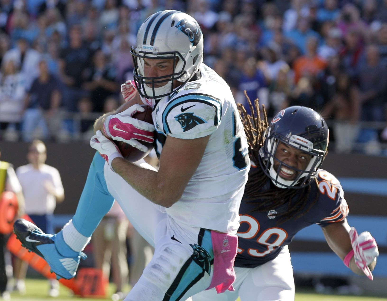 Panthers TE Greg Olsen will not play against Saints Sunday