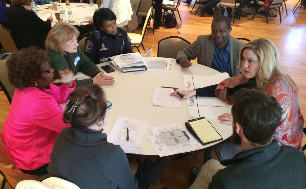 Charleston session seeks public input on policing, community relations