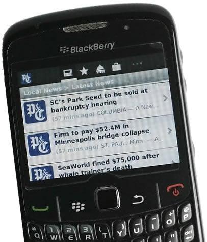 BlackBerry in flux