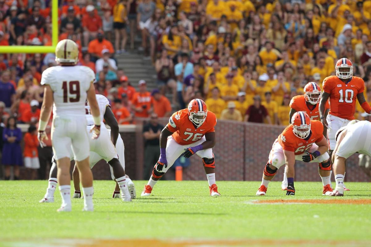 Counting down Clemson's top 10 most important Tigers: OL Shaq Anthony