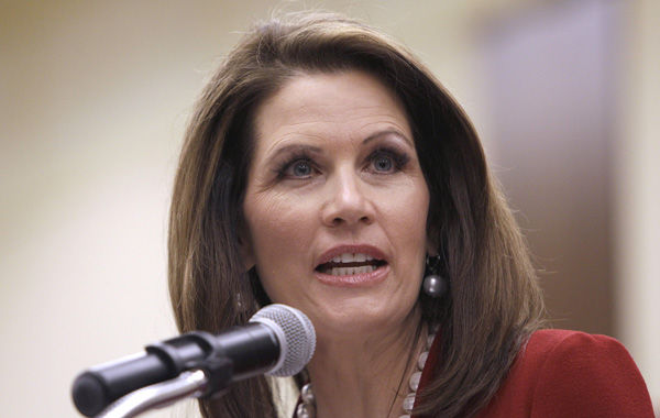 Bachmann goes after Gingrich