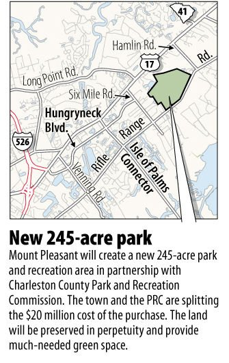 Charleston County Council approves 245 acre Mount Pleasant land buy