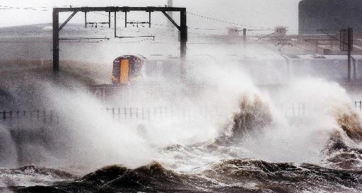 Tropical Storm Katia slams into Ireland, Britain