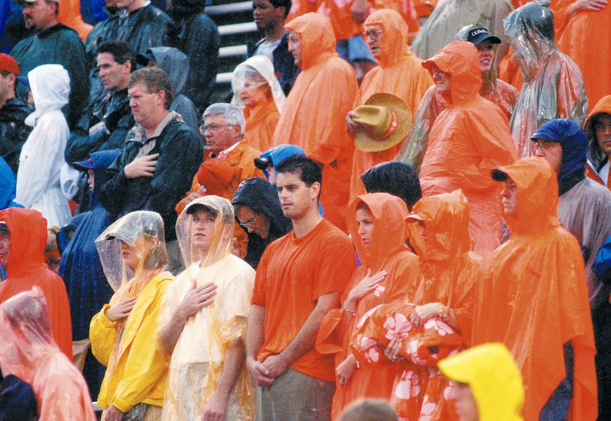 Clemson officials monitor rain threat for Saturday: 'Everything scheduled as planned'