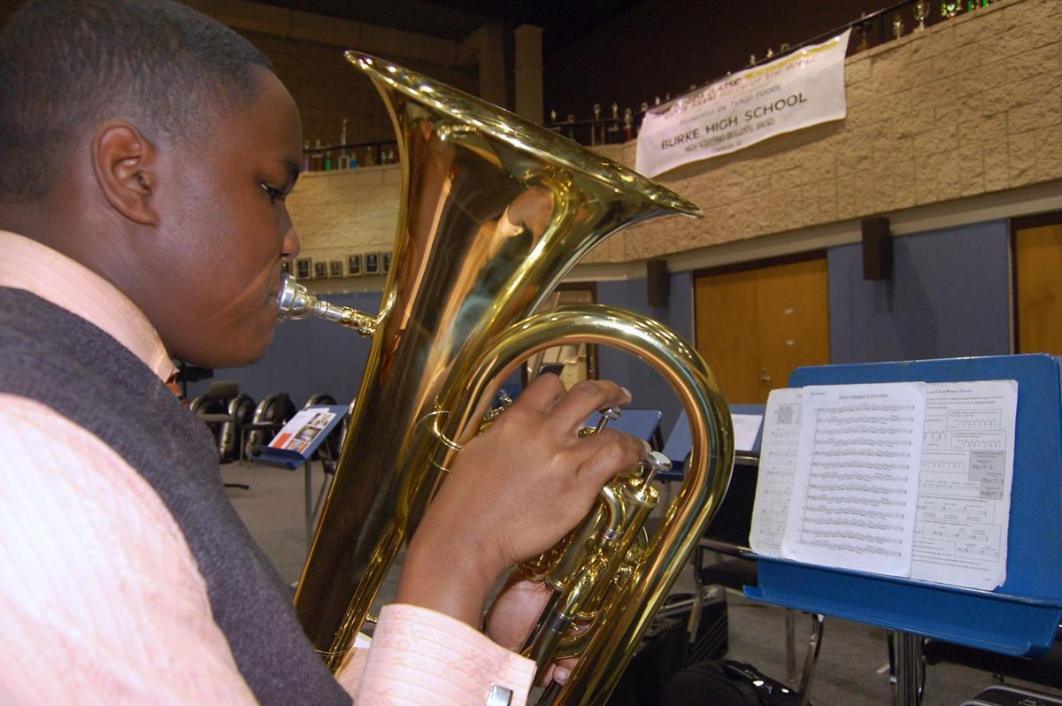 Giving a college try Burke hosts 6th annual band scholarship auditions