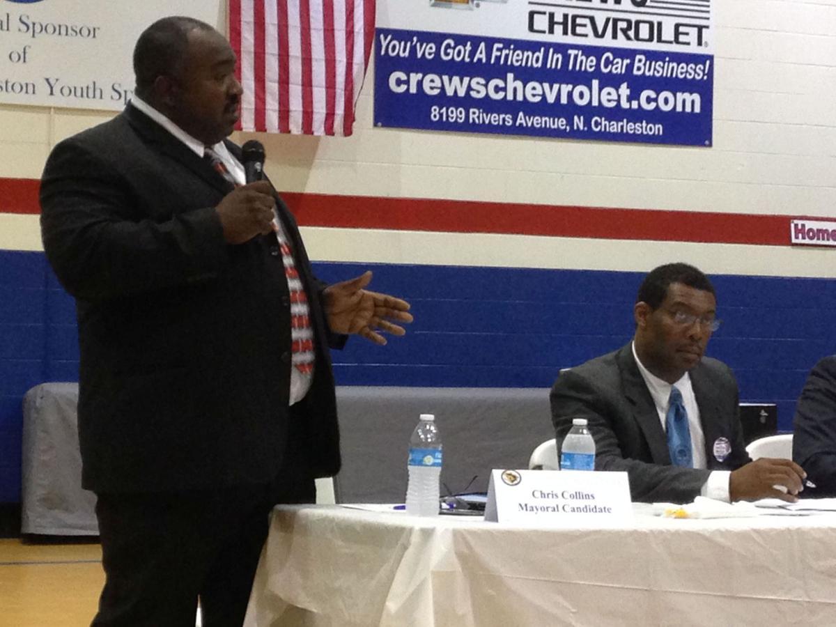 North Charleston mayor candidates address Northwoods crowd