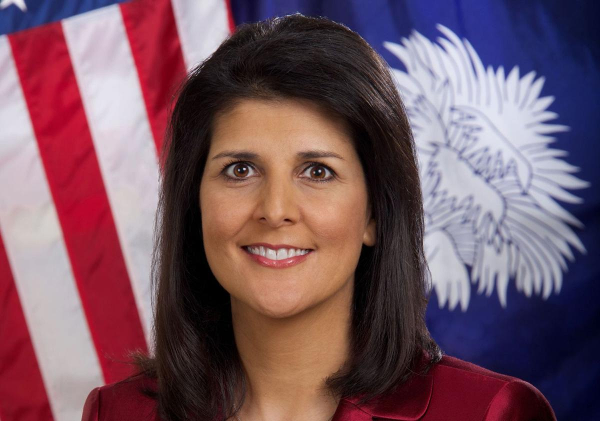 Gov. Nikki Haley named one of Time's top 100 influential people