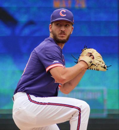 Clemson pitcher Mat Clark