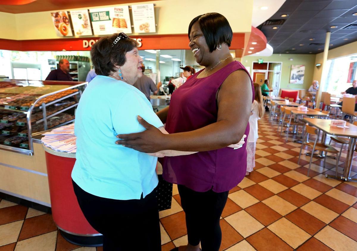 Doughnut lovers aid local Olympian