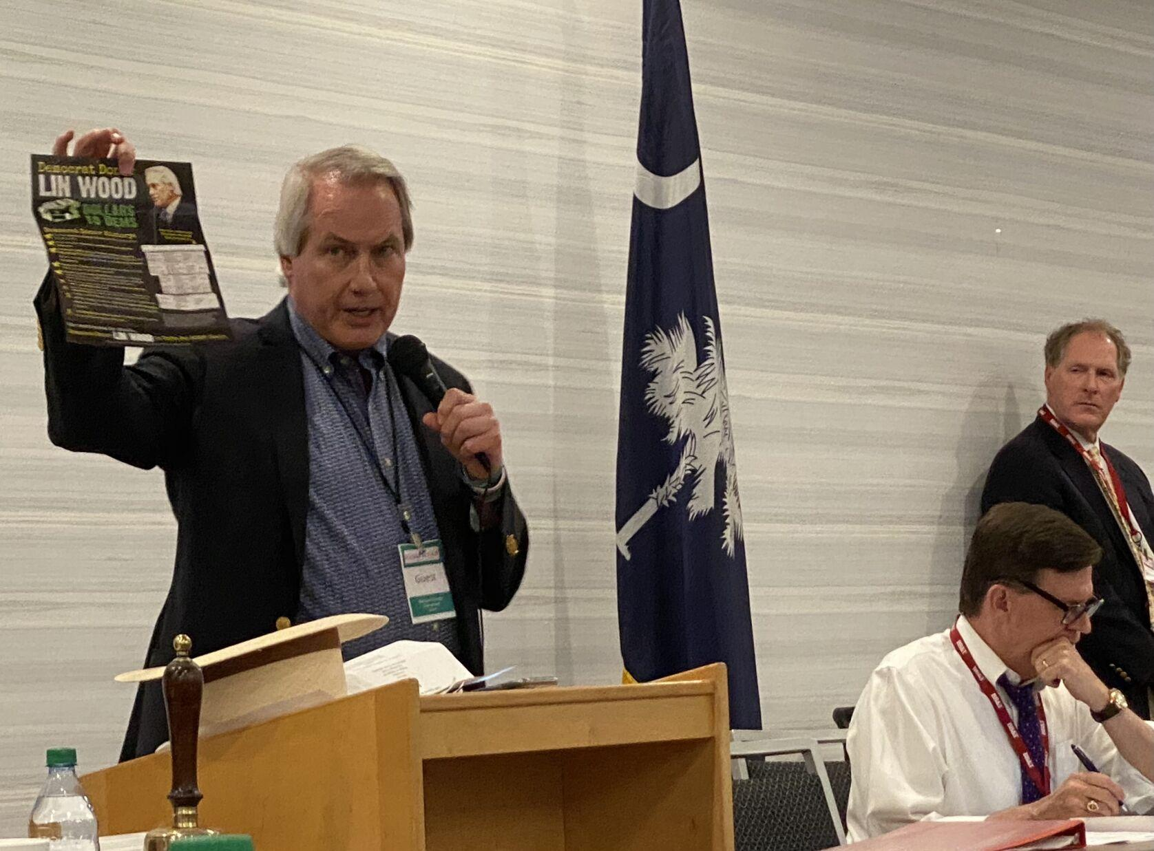 POST AND COURIER – Race for SC GOP chair devolves into political 'circus' as Lin Wood challenges Drew McKissick
