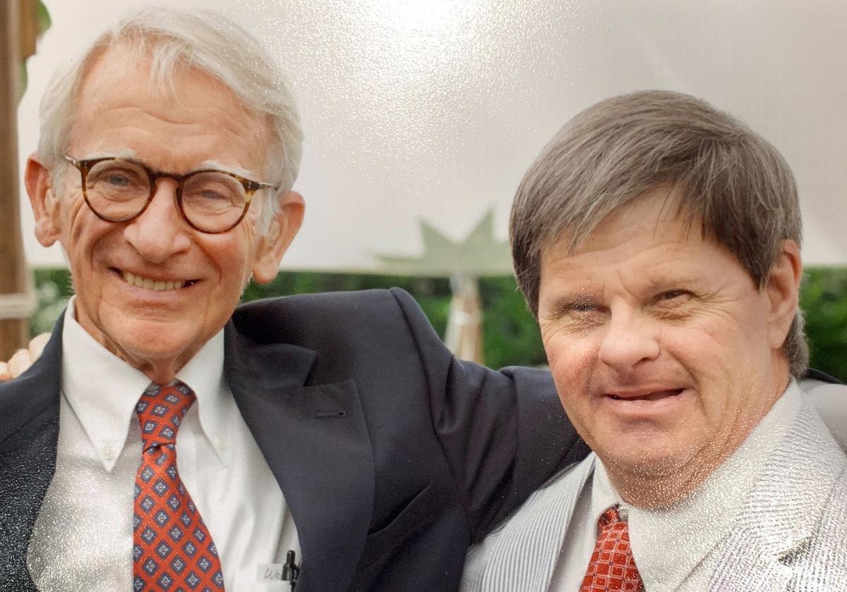 Mayor Joe Riley and George Ramsay